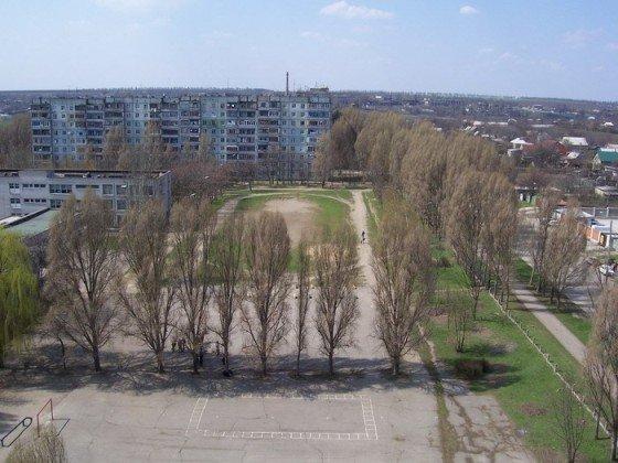 Осипенковский микрорайон в Запорожье
