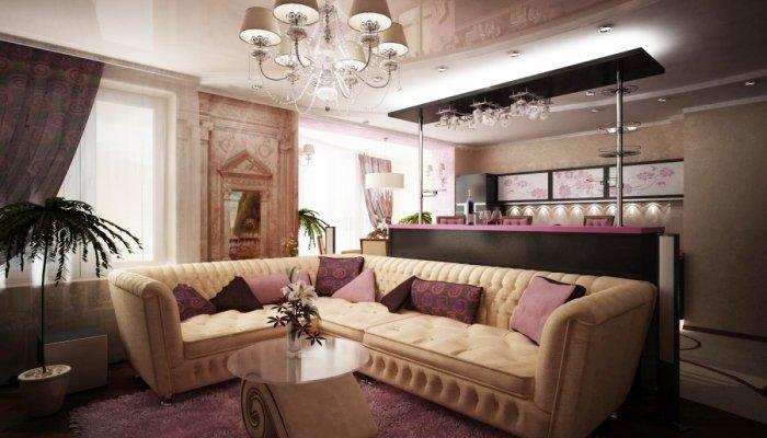 Примеры самых шикарных гостиных комнат - Уютный, современный, незабываемый интерьер