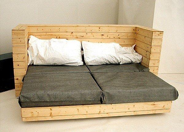 Кровать подиум в нише своими руками