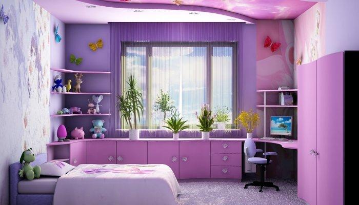Двадцать пять идей, как оформить детскую комнату для девочки